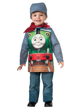 Thomas The Tank Percy Deluxe Toddler/Child Costume