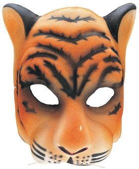 Adult Tiger Mask Costume Accessory