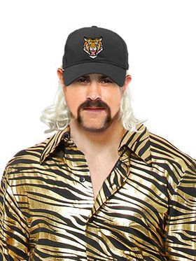 Tiger Trainer Mullet Hat for Adults