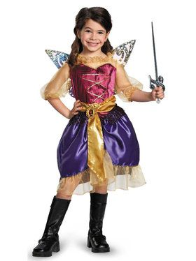Tinker Bell and The Pirate Fairy - Pirate Zarina Girls Costume  sc 1 st  BuyCostumes.com & Fairy and Elf Costumes - Kids and Adults Halloween Costumes ...