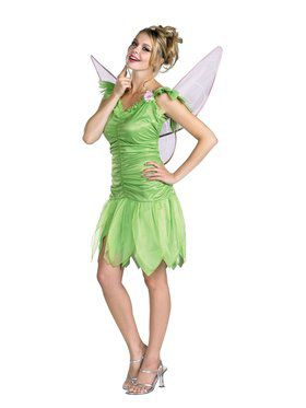 Tinkerbell Quality Dress Adult (12-14) C