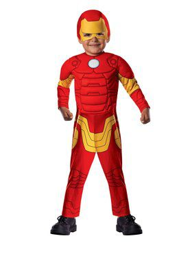 Avengers Assemble Iron Man Toddler Boy Costume