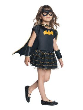 Toddler's Batgirl Tutu Dress Up Set