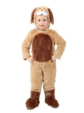 Child Ben the Brown Puppy Costume