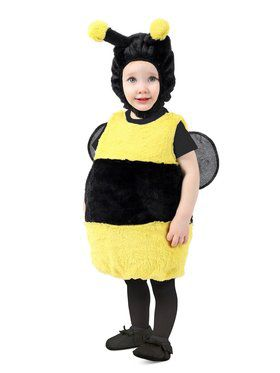 Toddler Bumbly Bee Costume