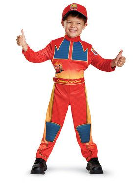 Cars 3 Deluxe Lightning Mcqueen Toddler Costume