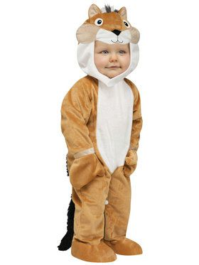 Toddler Chipper Chipmunk Costume 12-24 Months