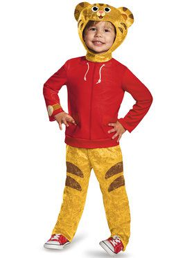 Daniel the Tiger Classic Toddler Costume