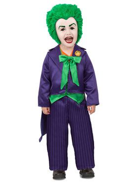 Toddler DC Batman Comics Joker Costume