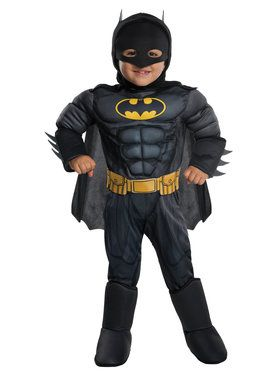 Toddler Deluxe Batman Costume