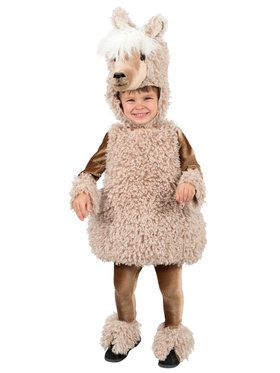 Toddler Deluxe Llama Costume
