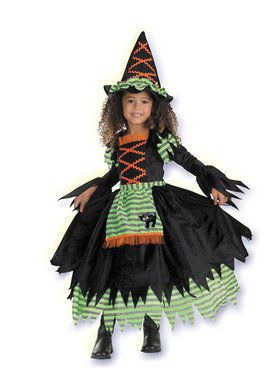 Storybook Deluxe Toddler Witch Costume