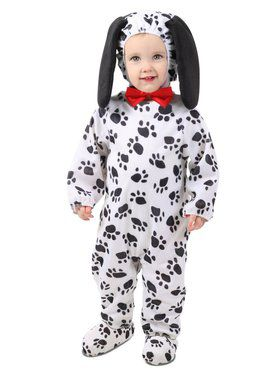 Toddler Dudley the Dalmation Costume