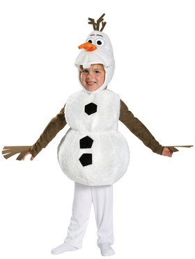 Toddler Frozens Olaf Deluxe Costume