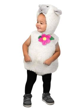 Toddler Furry Lamb Costume