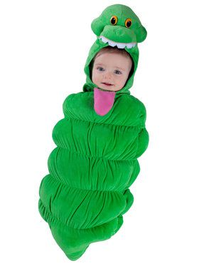 Toddler Ghostbusters Slimer Swaddle Costume