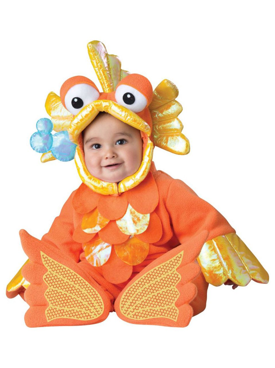 toddler giggly goldfish costume - baby halloween costumes