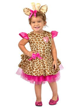 Toddler Gigi The Giraffe Costume