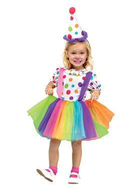 Toddler Girls Big Top Fun Costume