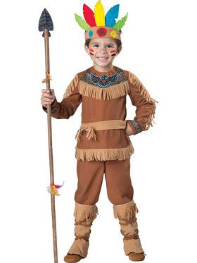 Little Indian Boy Toddler Costume