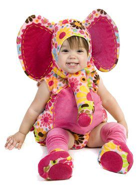 Colorful Isabella the Elephant Costume