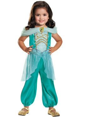 Jasmine Toddler Classic Costume