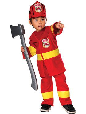 Lil Junior Fireman Costume