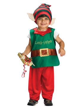 Toddler Lil Elf Costume