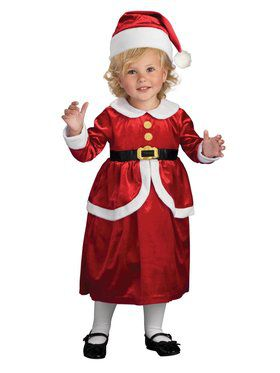 Toddler Lil Mrs. Claus Costume