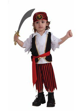 Lil' Pirate Boy Costume for Toddlers