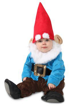 Toddler Littlest Garden Gnome Costume