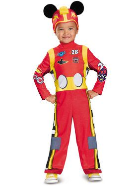 Toddler Classic Mickey Roadster Boys Costume