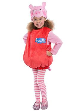 Deluxe Toddler's Peppa Pig Dress with Tulle