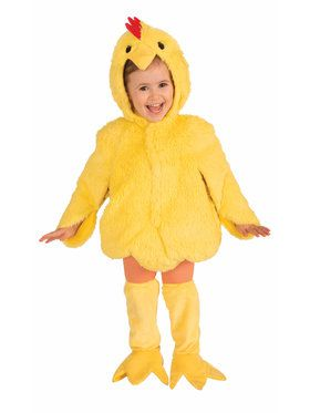 Toddler Plush Chicken Costume