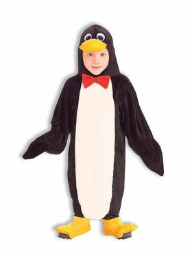 Plush Penguin Costume for Toddlers