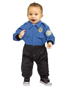 Toddler Policeman Costume 12-24 Months