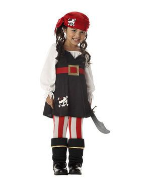 Precious Little Pirate Toddler Costume