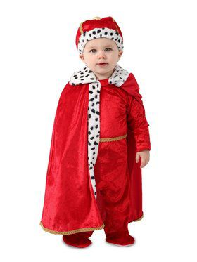 Toddler Regaly Royalty King Costume
