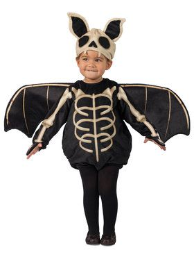 Toddler Skele-Bat Costume