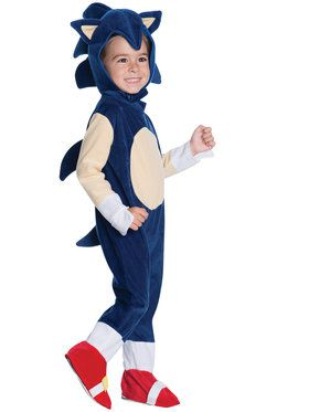 Toddler Sonic Romper Costume