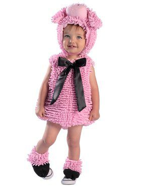 Toddler Squiggly Piggy With Feet Costume