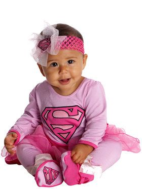 Super Girl Infant Jumper