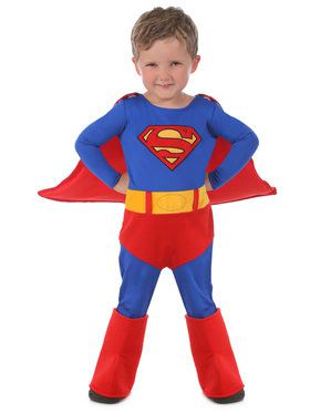 Kid's Superman Cuddly Costume