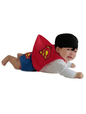 Toddler Superman Diaper Cover Set Costume