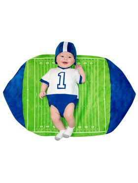 Newborn Football Swaddle Wings Costume