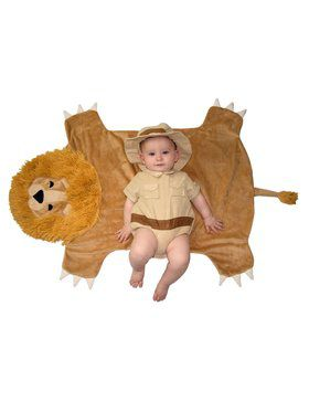 Newborn Safari Hunter Swaddle Wings Costume