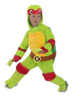 Toddler's Mutant Ninja Turtles Costume