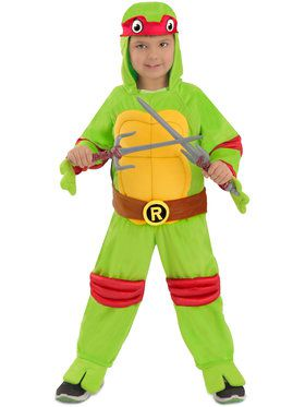 Toddler Teenage Mutant Ninja Turtles Raphael Costume 12-18 Months
