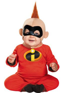 Infant Deluxe Baby Jack The Incredibles Costume  sc 1 st  BuyCostumes.com & All Baby and Toddler Costumes - Baby and Toddler Halloween Costumes ...