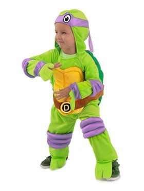 Toddler Tmnt Donatello Jumpsuit Costume